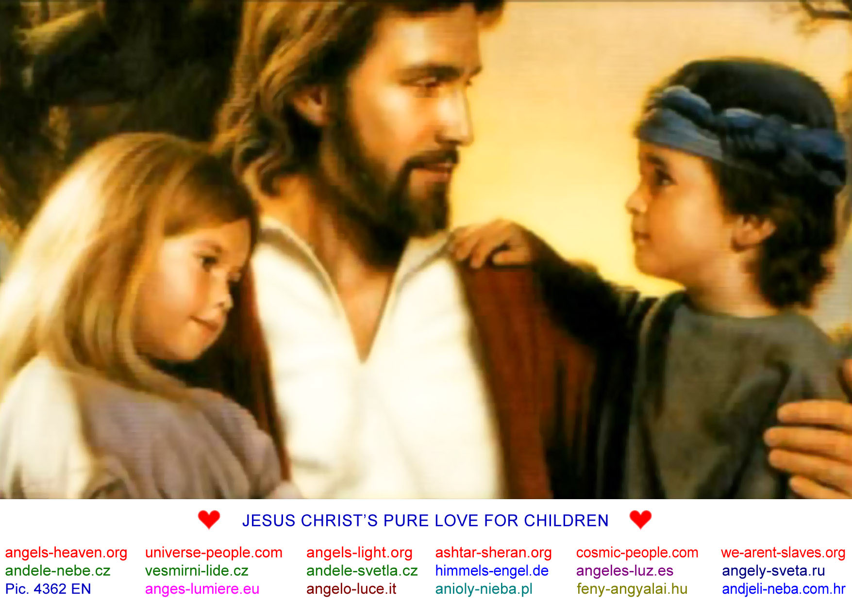 Of jesus with pictures children